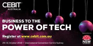 CEBIT Australia, 29-31 October 2019